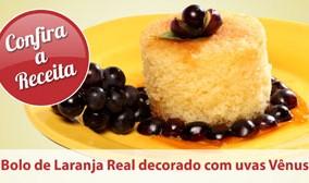 Sobremesa com Bolo de Laranja (1)