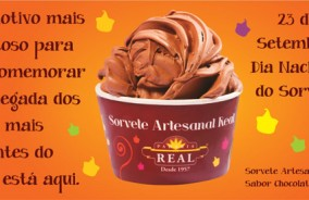 Nova rodada do Sorvete Artesanal Real chega às lojas