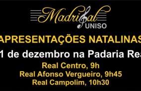 Madrigal UNISO na Padaria Real