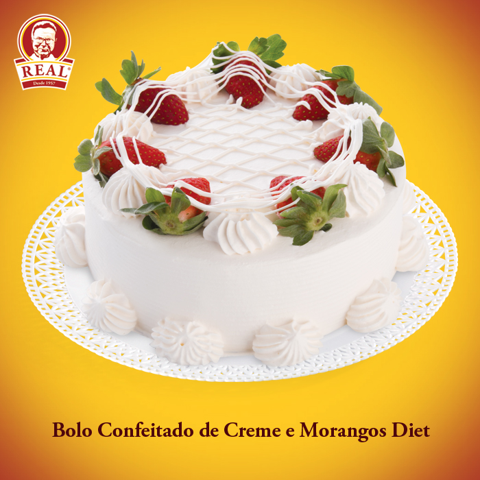 Bolo Confeitado Real Crocante de Chocolate Preto Diet_Padaria Real