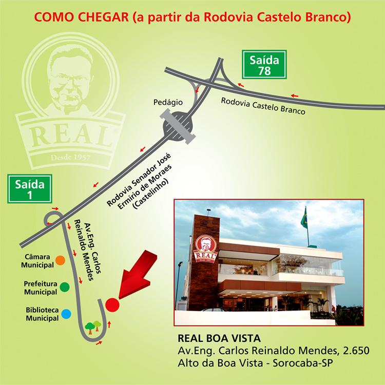 Mapa RBV Castelo