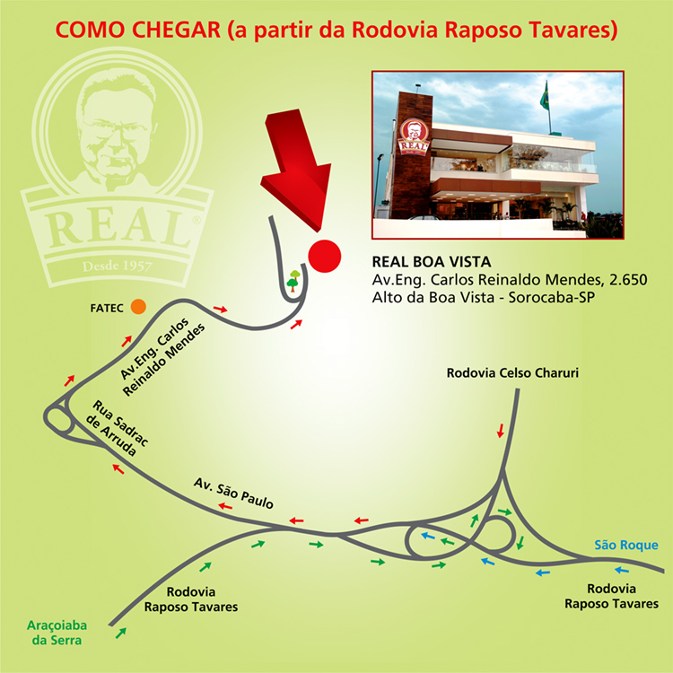 Mapa RBV Raposo