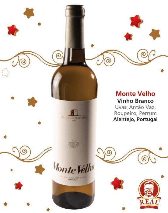Vinhos para as Festas_Padaria Real_Monte Velho Branco