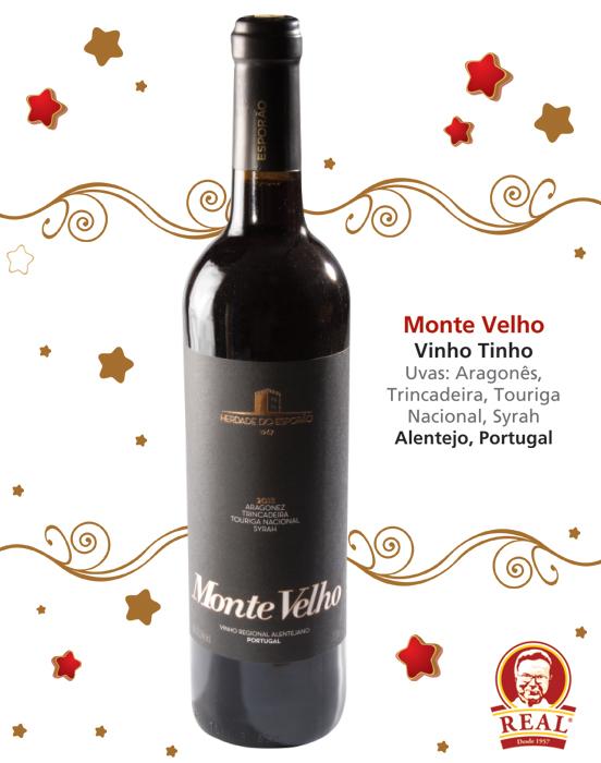 Vinhos para as Festas_Padaria Real_Monte Velho Tinto