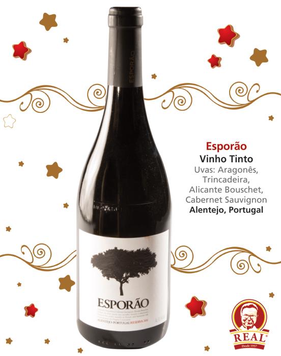 Vinhos para as Festas_Padaria Real_Esporão Tinto