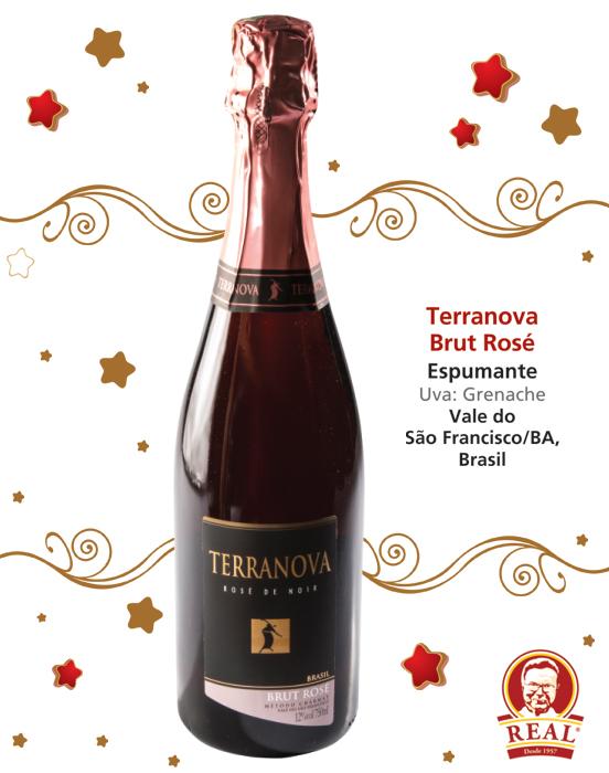 Vinhos para as Festas_Padaria Real_Terranova Brut Rosé