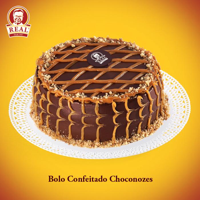 Bolo Confeitado Choconozes_Padaria Real