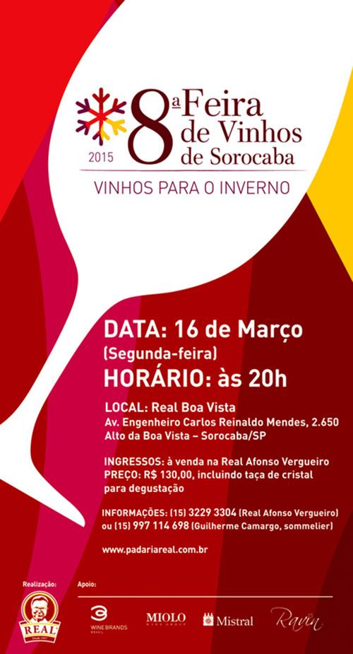 8ª Feira de Vinhos de Sorocaba_Padaria Real