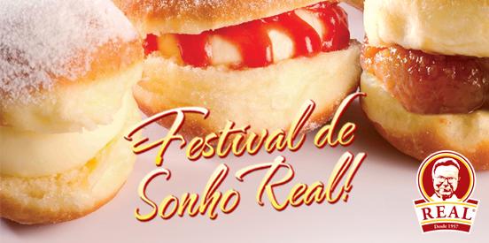 Sexta, dia 10, tem mais um Festival de Sonho Real