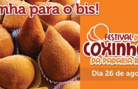 Festival de Coxinhas! Quarta, dia 26!