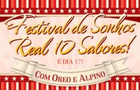 É hoje! Festival de Sonho Real!