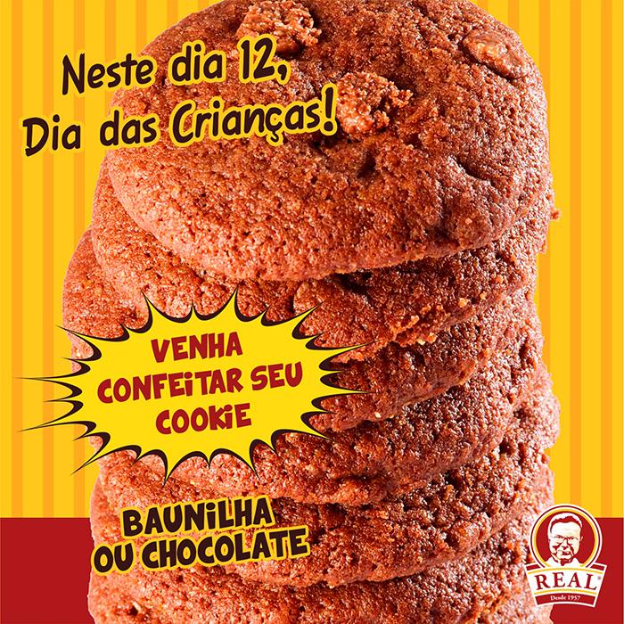 Cookies Turminha Real_Padaria Real_Chocolate_Chocolate_Padaria Real