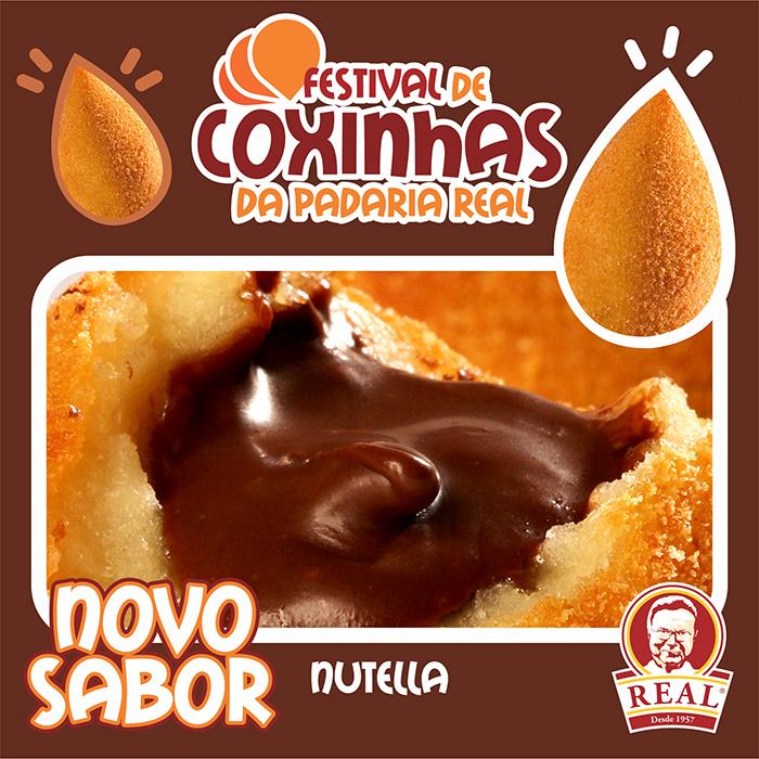 Festival de Coxinhas de Novembro_Padaria Real_nutella