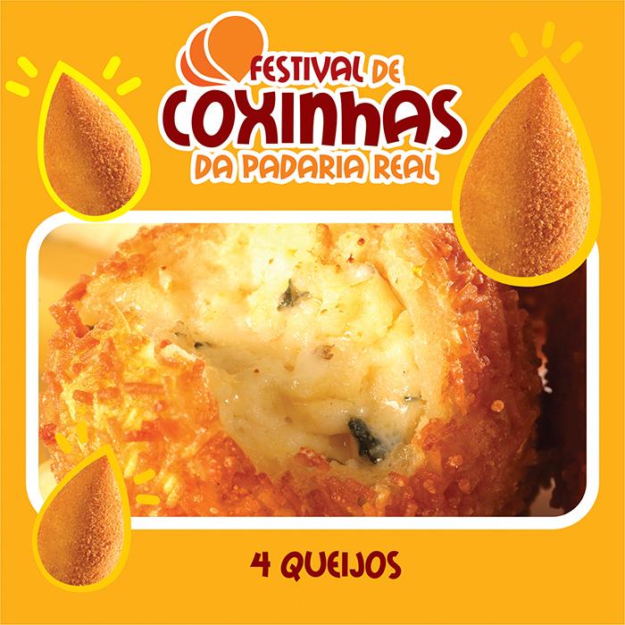 Festival de Coxinhas de Novembro_Padaria Real_quatro queijos