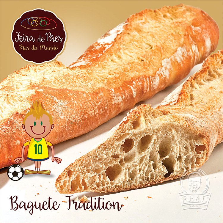 Baguete Tradition_Padaria Real
