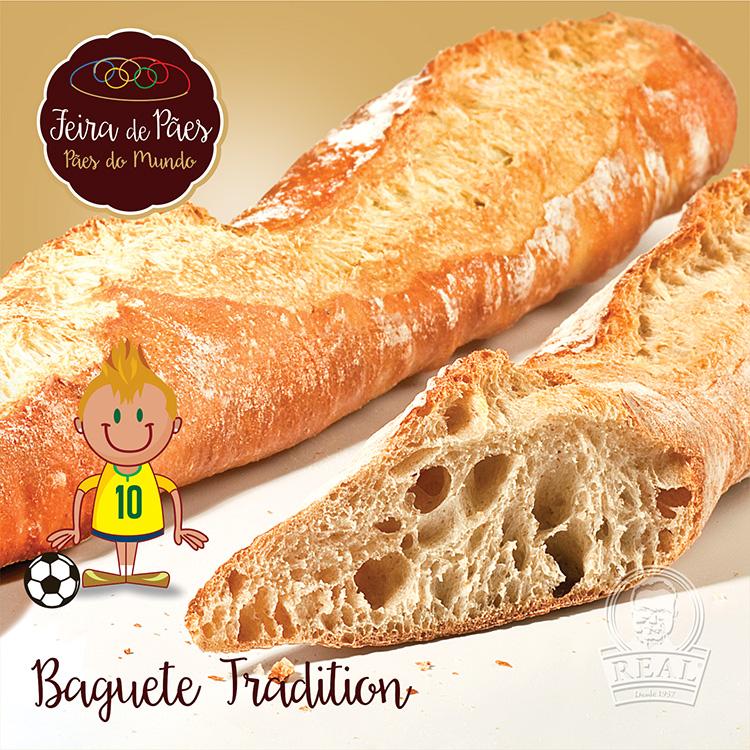 Baguete Tradition_Padaria Real