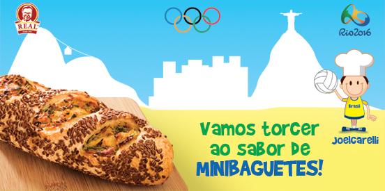 Minibaguetes pra começar!
