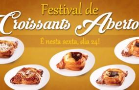 Croissants Abertos Recheados