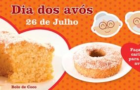 Bolo de Coco – Especial para o Dia dos Avós