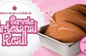 Sorvete Artesanal Real – Novo Cardápio