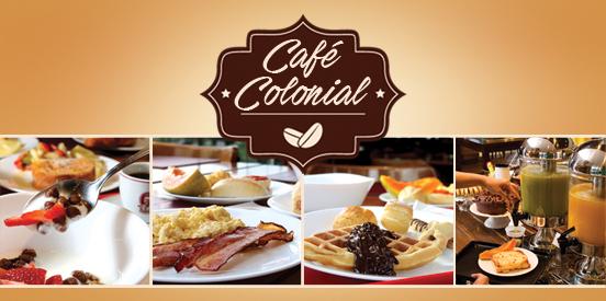 Café Colonial: domingos e feriados