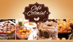 Café colonial: domingos e feriados!