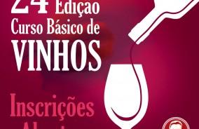 24º Curso Básico de Vinhos: inscrições abertas
