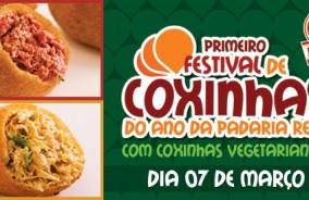 Dia 7, quarta: 1º Festival de Coxinhas do Ano