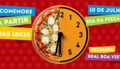 Dia 10/07: dia da pizza com rodízio!