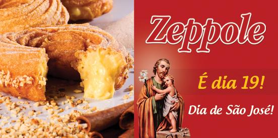 """Dia 19: Dia do """"Zeppole di San Giuseppe"""""""