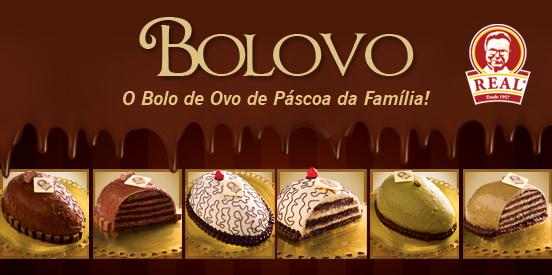 BOLOVO, o Bolo de Ovo de Páscoa da Família!