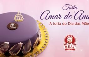 """""""Amor de Amora"""", a torta do Dia das Mães"""