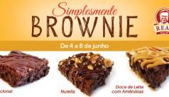 """De 4 a 8 de junho: """"Simplesmente Brownie"""""""