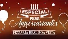 Aniversário na Pizzaria Real