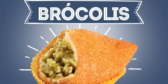 Janeiro: Coxinha de Brócolis