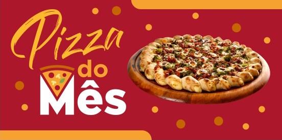 A pizza de fevereiro: Carnavalesca!