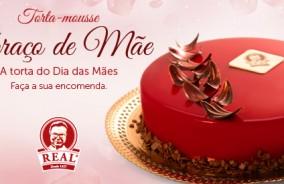 """""""Abraço de Mãe"""": a torta-mousse do Dia das Mães!"""