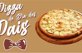 A Pizza do Dia dos Pais: Zucchini com Queijo de Ovelha