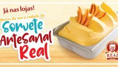 Sorvete Artesanal Real: nova rodada de sabores!